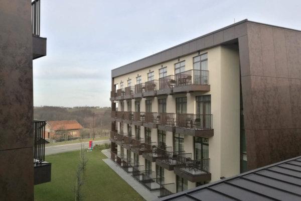 Paviljon v novem kompleksu